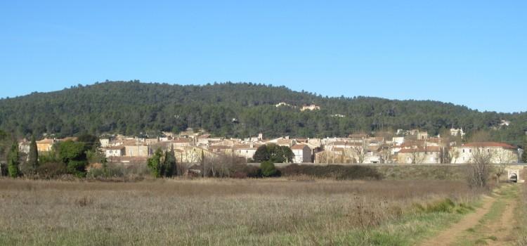 Le village vu de la Ferraille