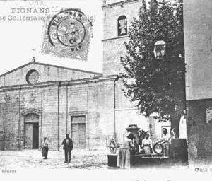 Photo ancienne - La Collegiale