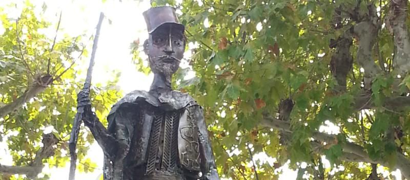 Jules Gérard sur la fontaine place des écoles