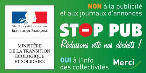 Stop aux publicités dans vos boîtes aux lettres