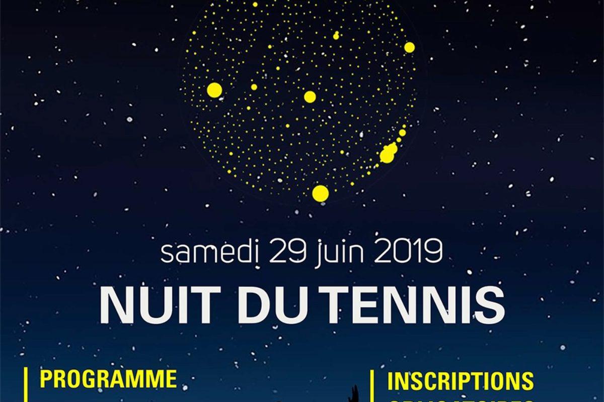 29 juin – Nuit du Tennis 2019