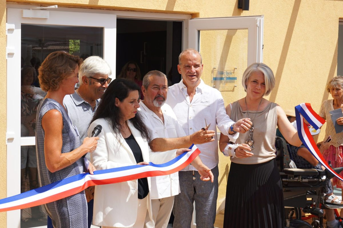 [Photos] Inauguration la villa Lucie