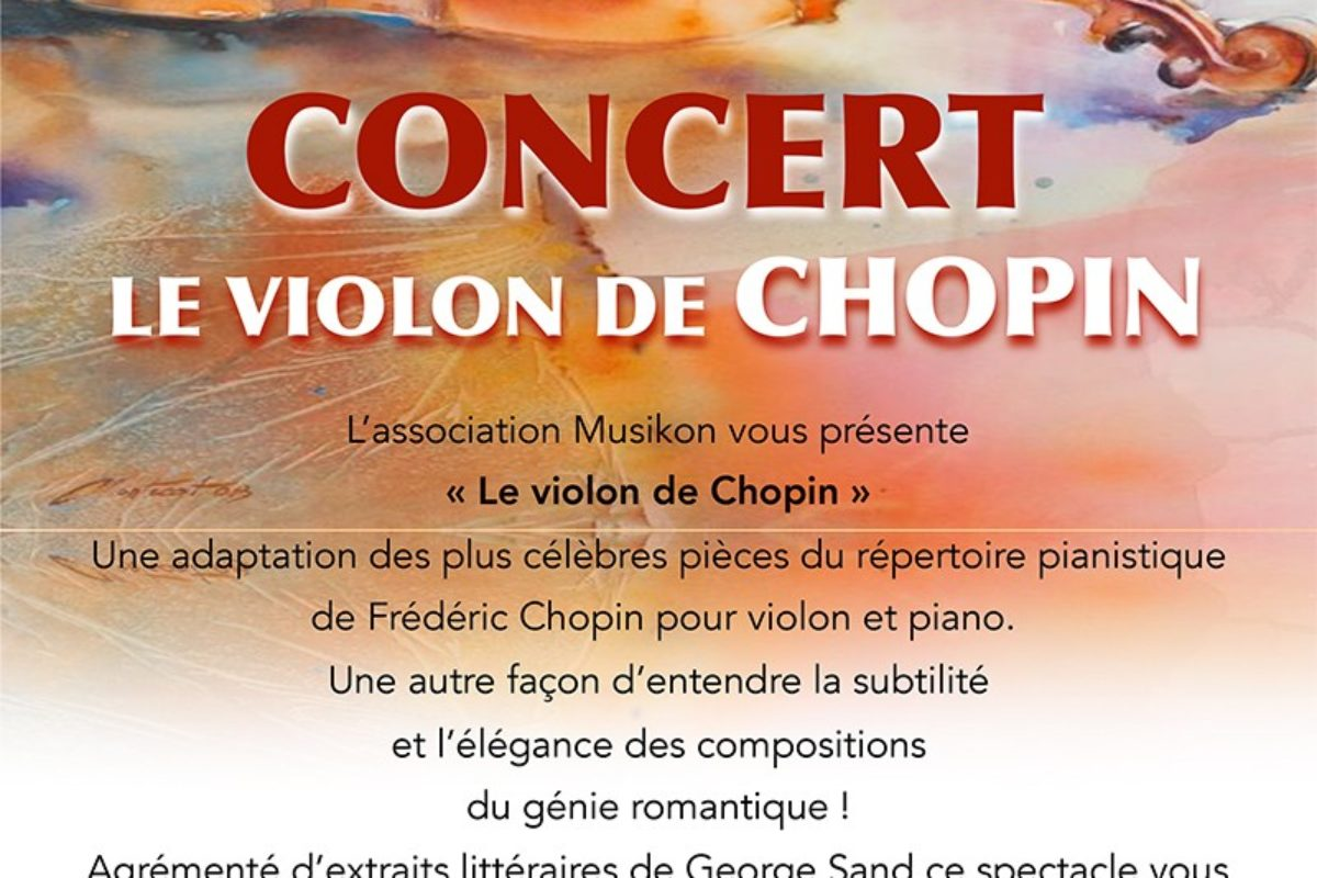 18 août – Concert de violon à la collégiale