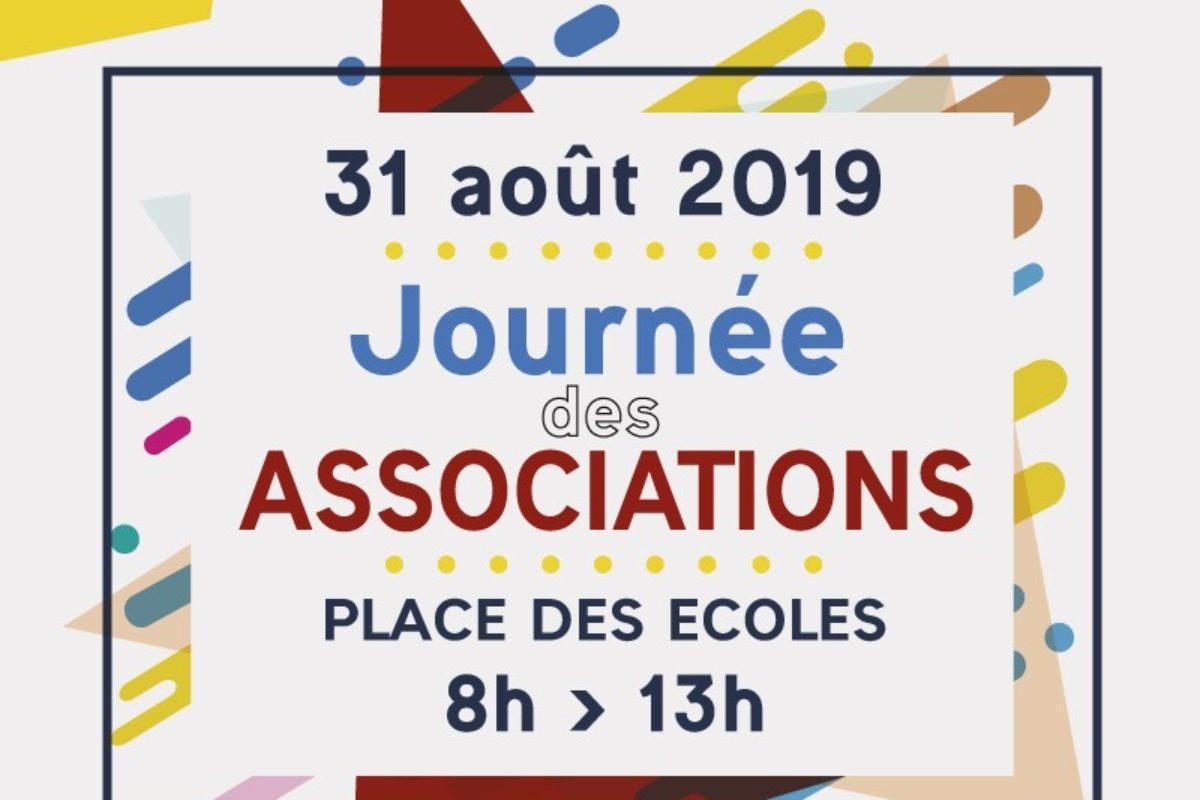 31 août – Journée des associations 2019