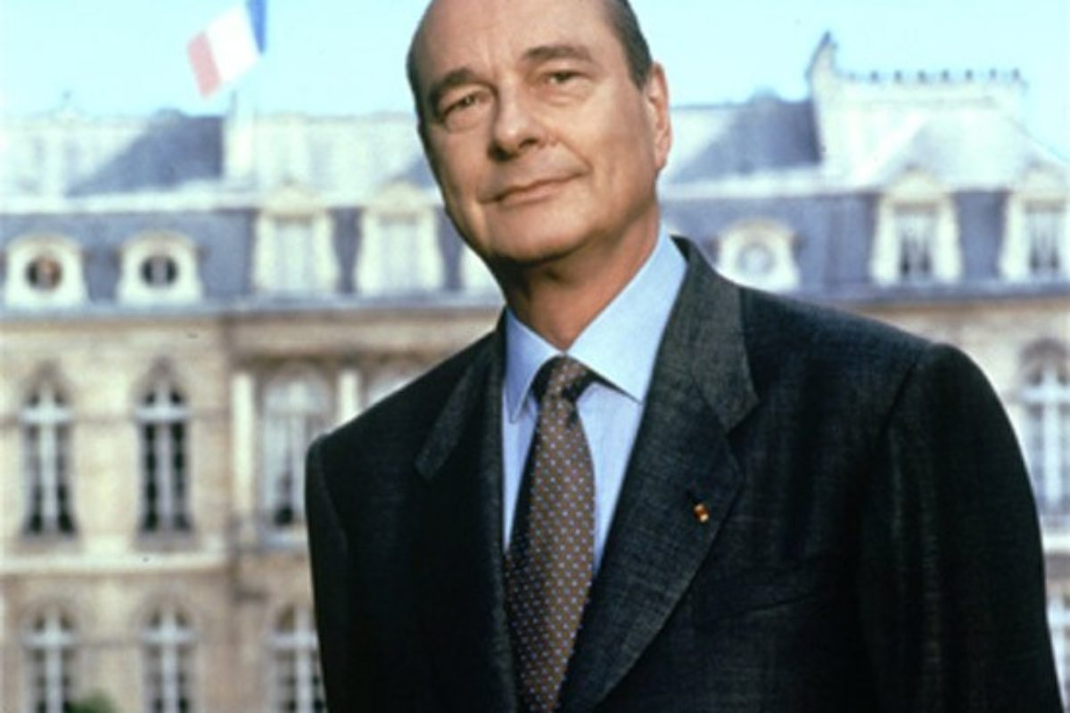 Hommage à Jacques Chirac