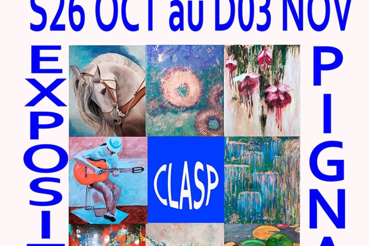 26 Oct. au 3 Nov. Exposition de peinture
