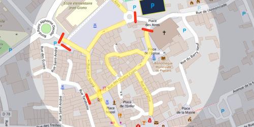 27 octobre – Fête de la châtaigne – Circulation et stationnement réglementés