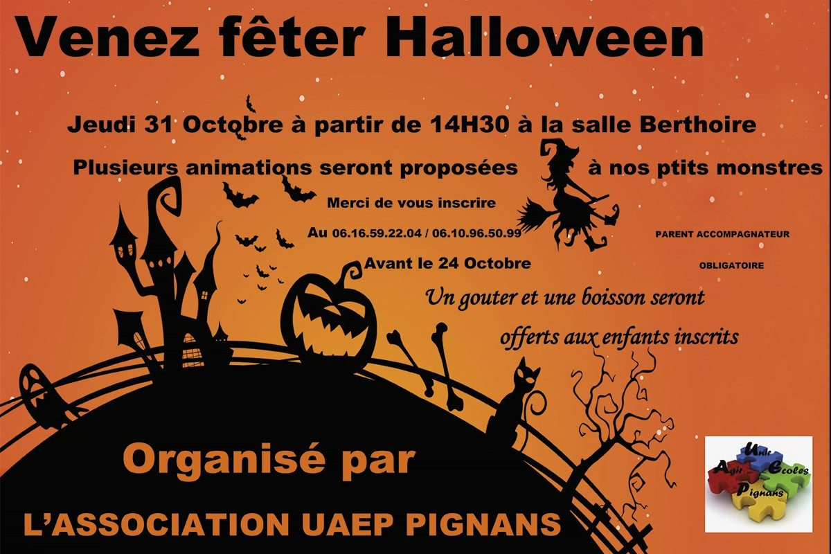 31 Octobre – Halloween