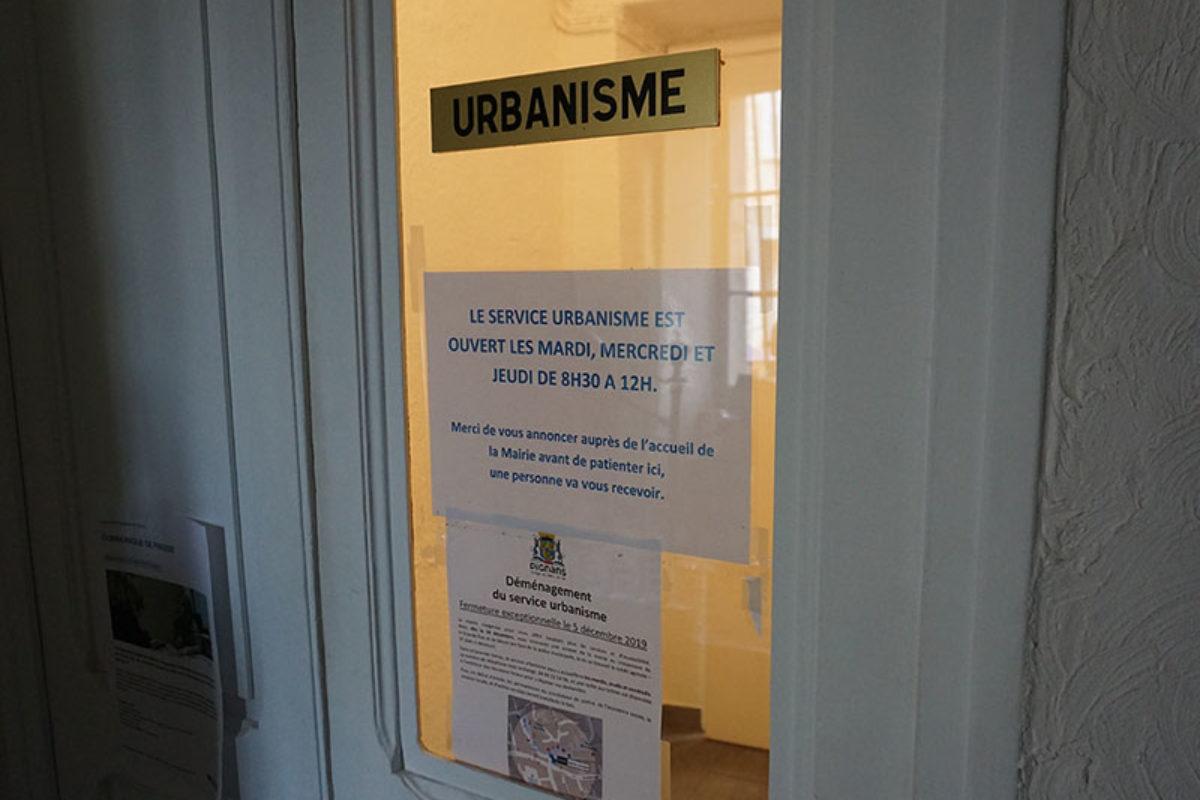 Déménagement  du service urbanisme