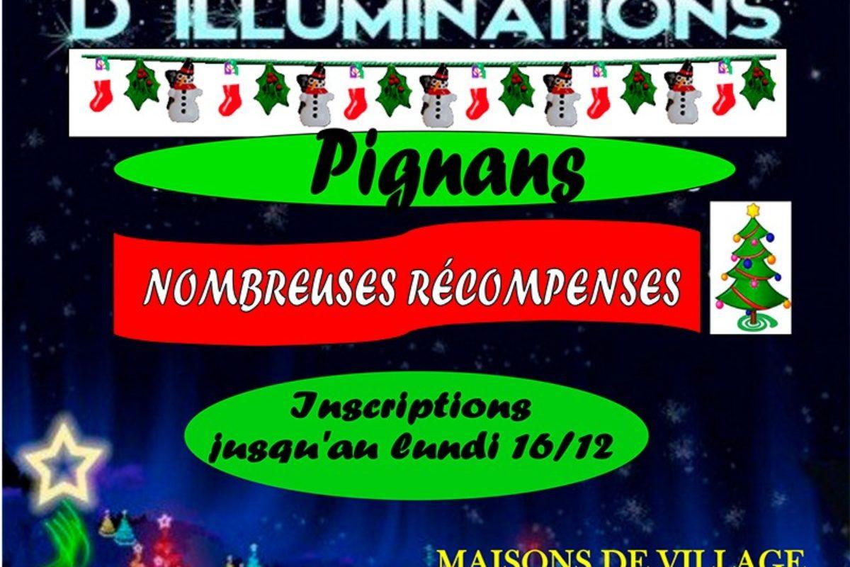 Concours d'illuminations 2019
