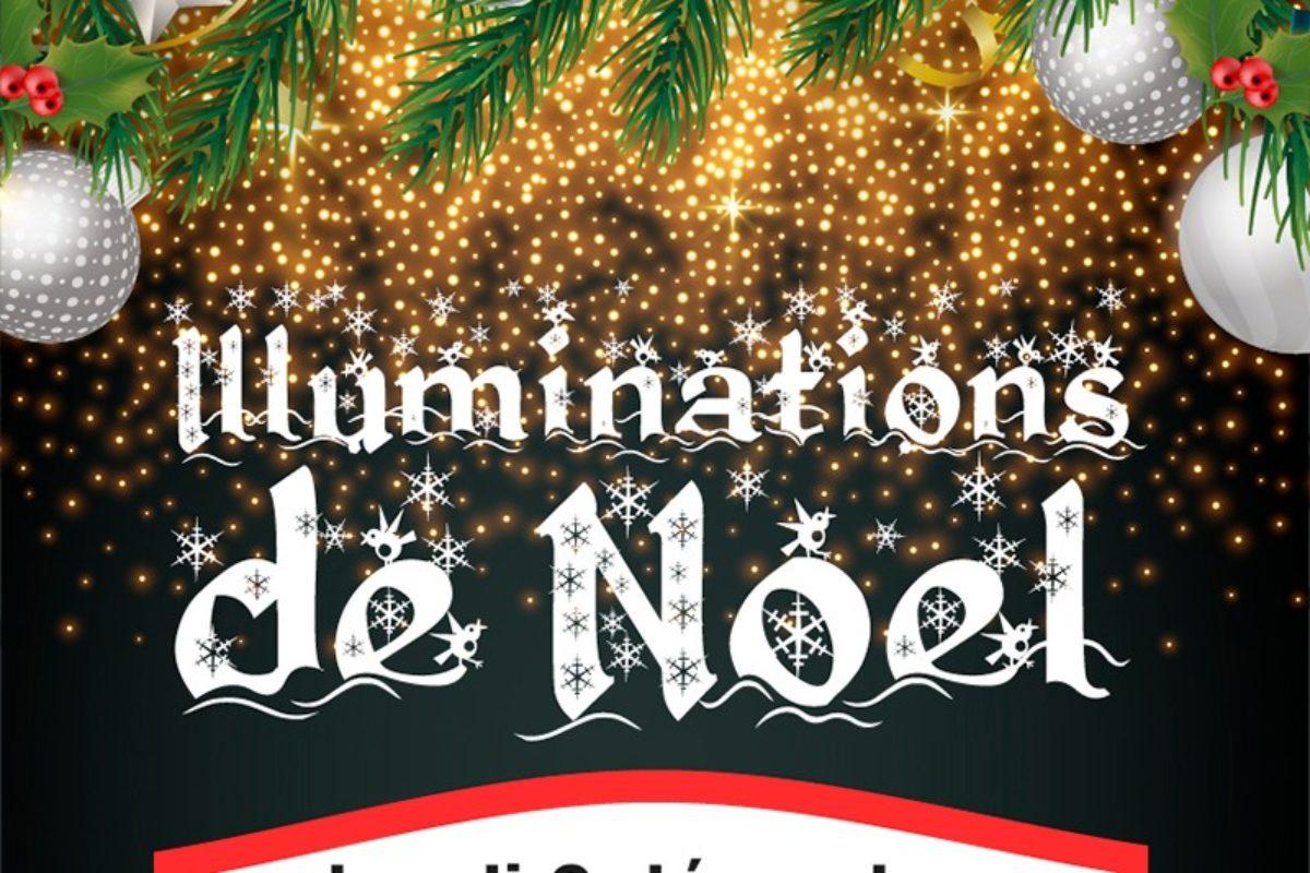 2 déc. – Lancement des illuminations de Noël