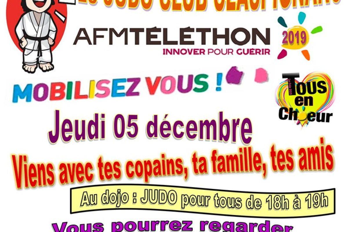 5 décembre – Téléthon 2019