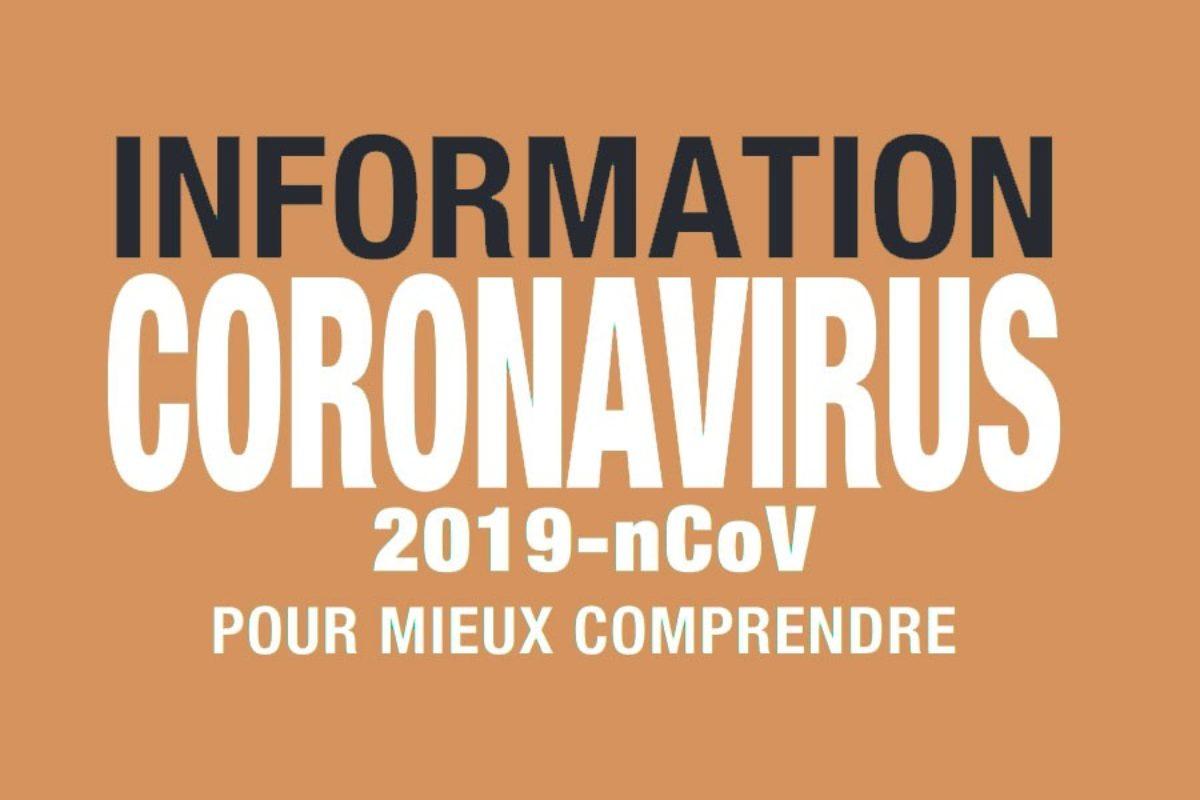 Coronavirus (Covid-19) : les recommandations du ministère de la Santé