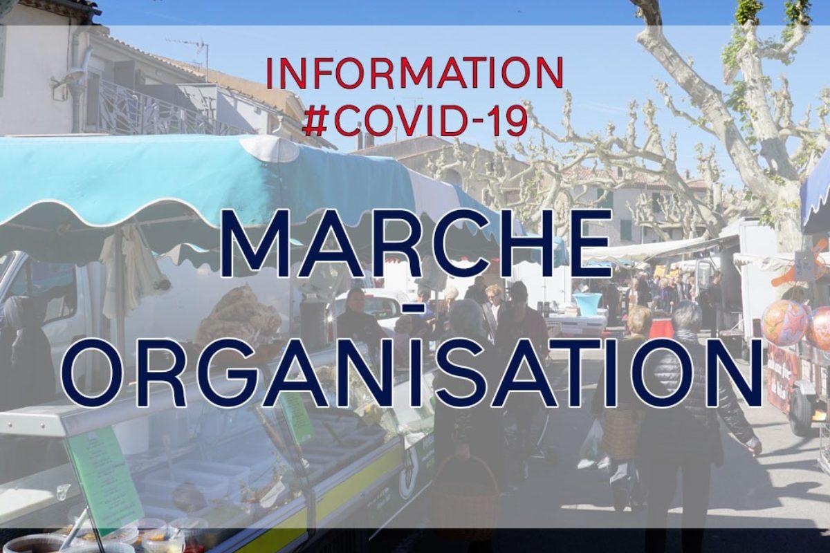 [Covid-19] 🚩 Organisation du marché alimentaire du jeudi