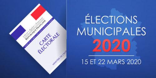 Élections 2020 – Avis aux candidats