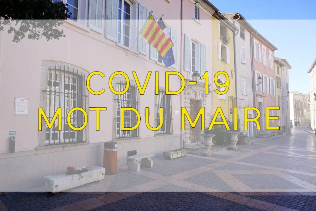 [Covid-19] Mot du maire du 1er avril 2020