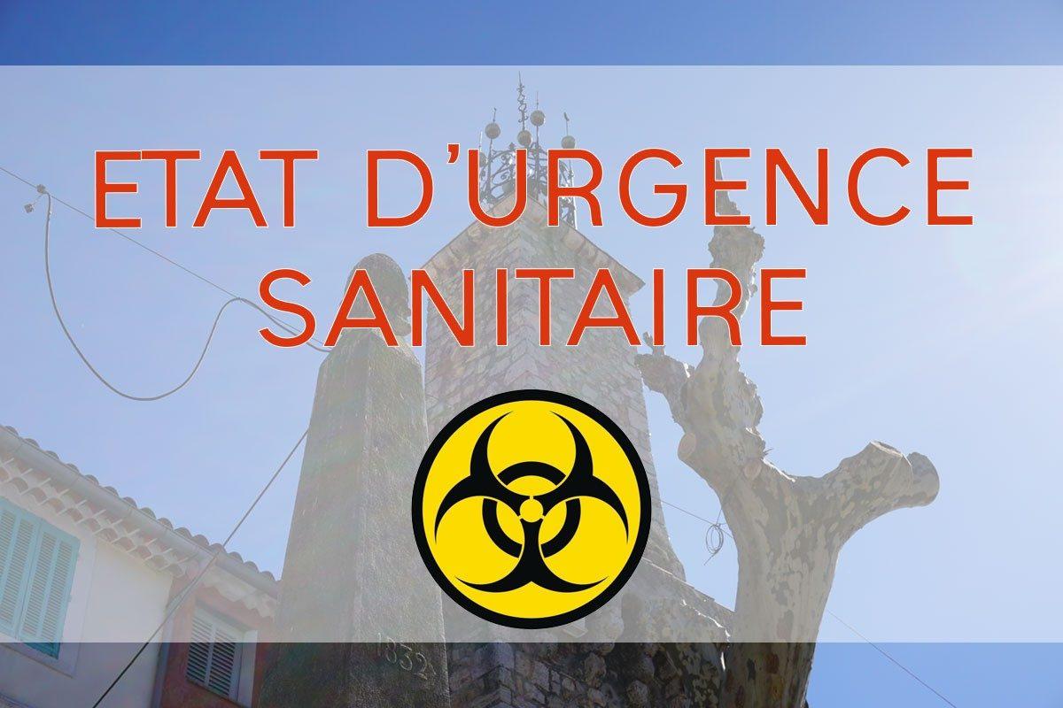 État d'urgence sanitaire – loi et décret