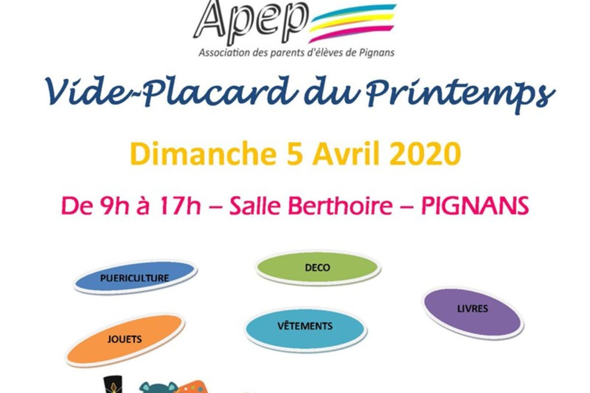 ANNULE – 5 avril – Bourse aux jouets et puériculture – APEP