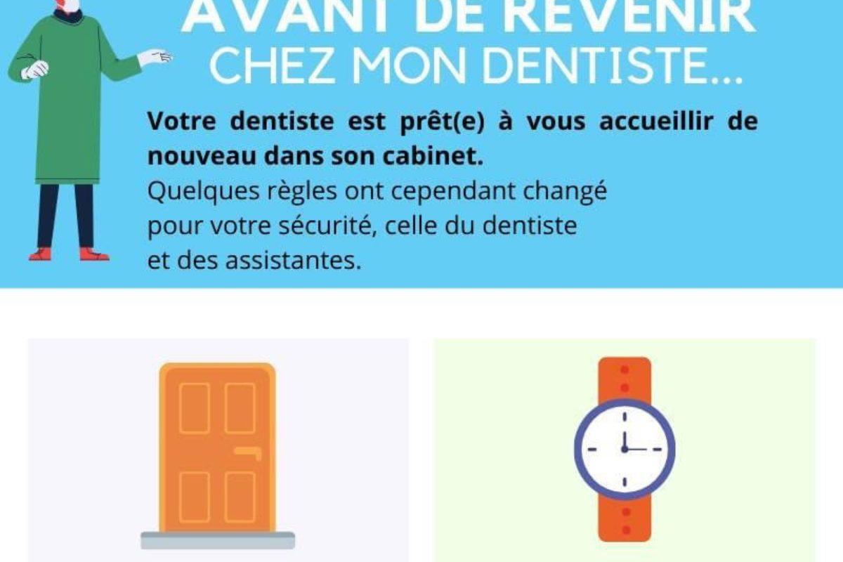 Réouverture du cabinet dentaire le 13 mai