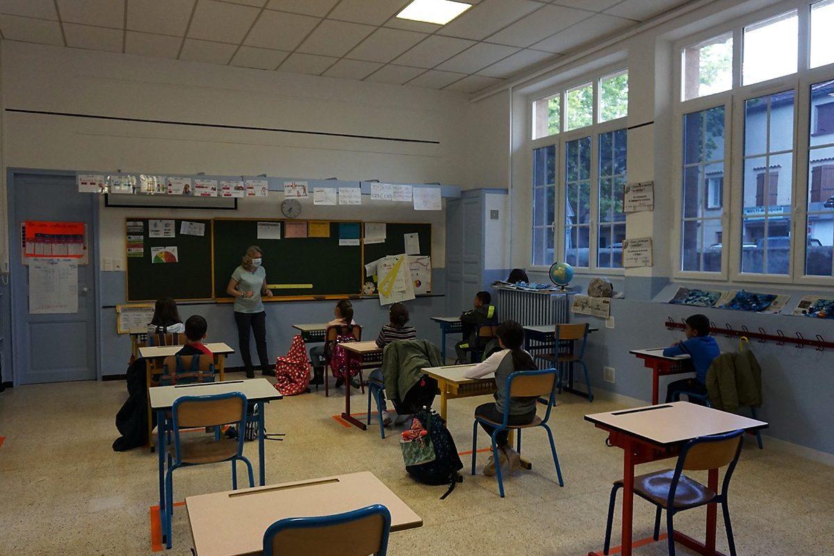 [Photos] Rentrée des écoles post-confinement