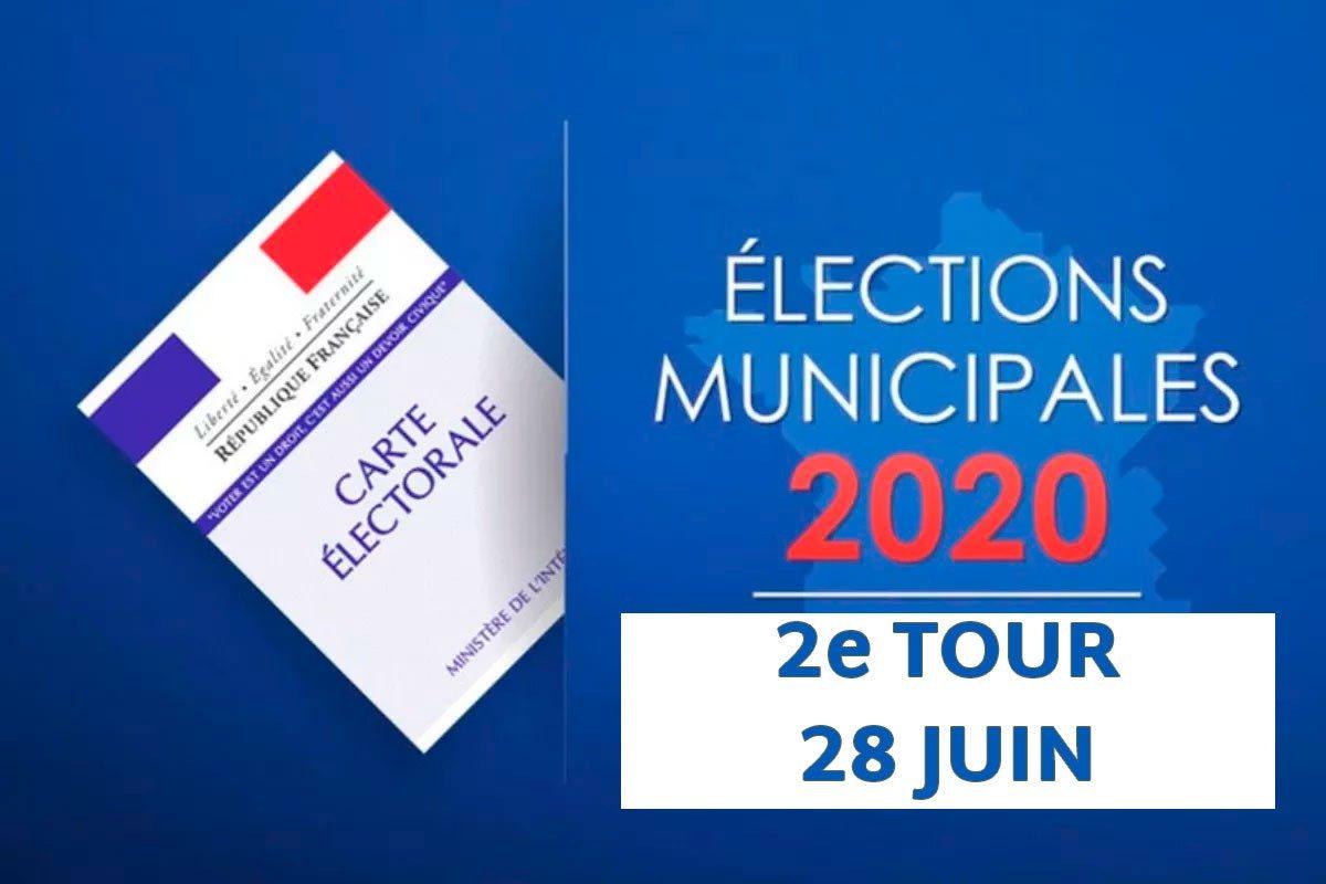 Élections municipales – résultats du 2e tour