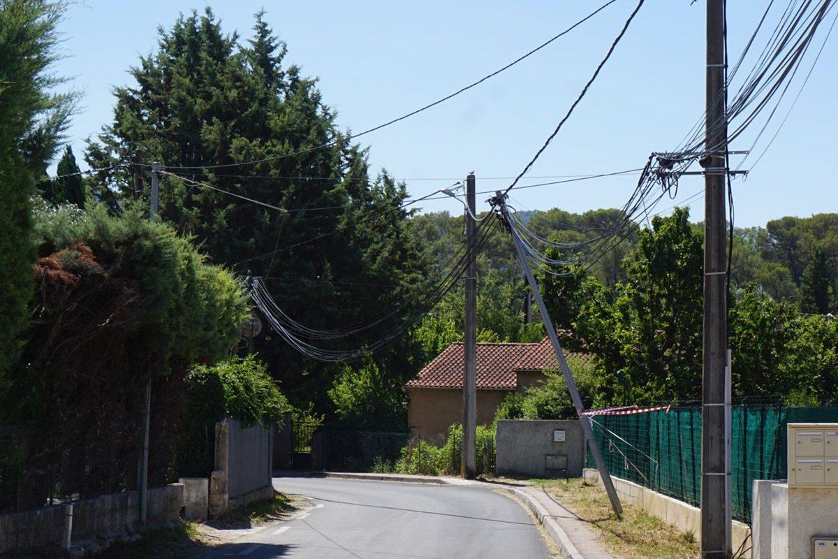 🔴⚠️[Info] Sinistre avenue du 11 novembre : Câble télécom endommagé