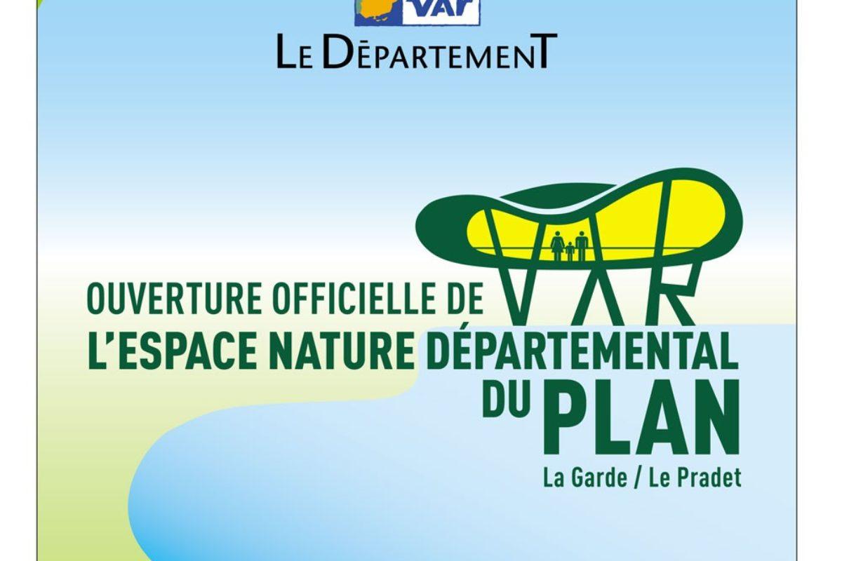 Ouverture officielle de l'espace nature départemental du plan