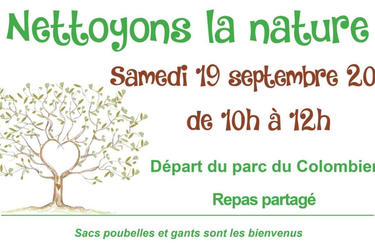 19 sept. – Jardin Soleil – Nettoyons la nature