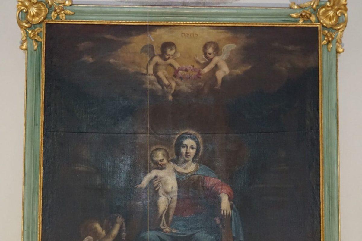 📷 Installation du tableau Notre Dame des Anges de Jean Daret