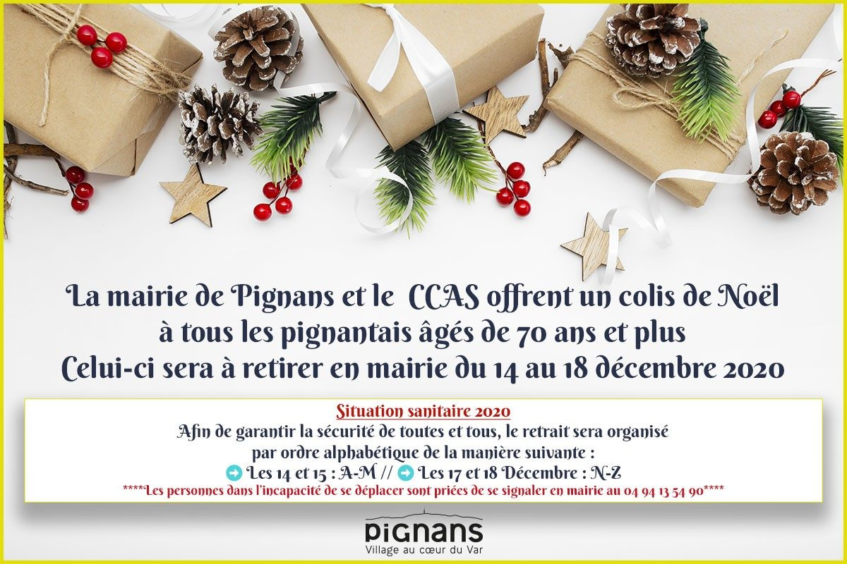 🎁[CCAS] Colis de Noël 2020