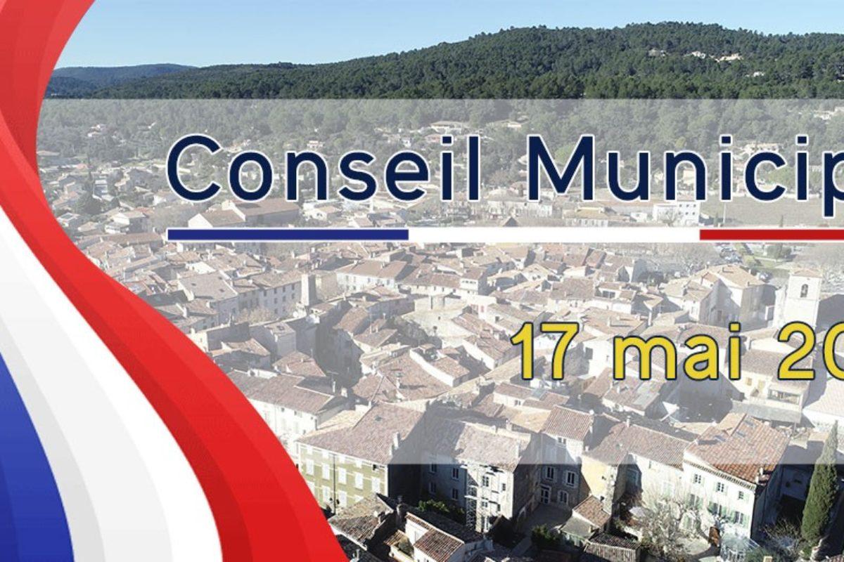 17 mai 2021 – Conseil Municipal