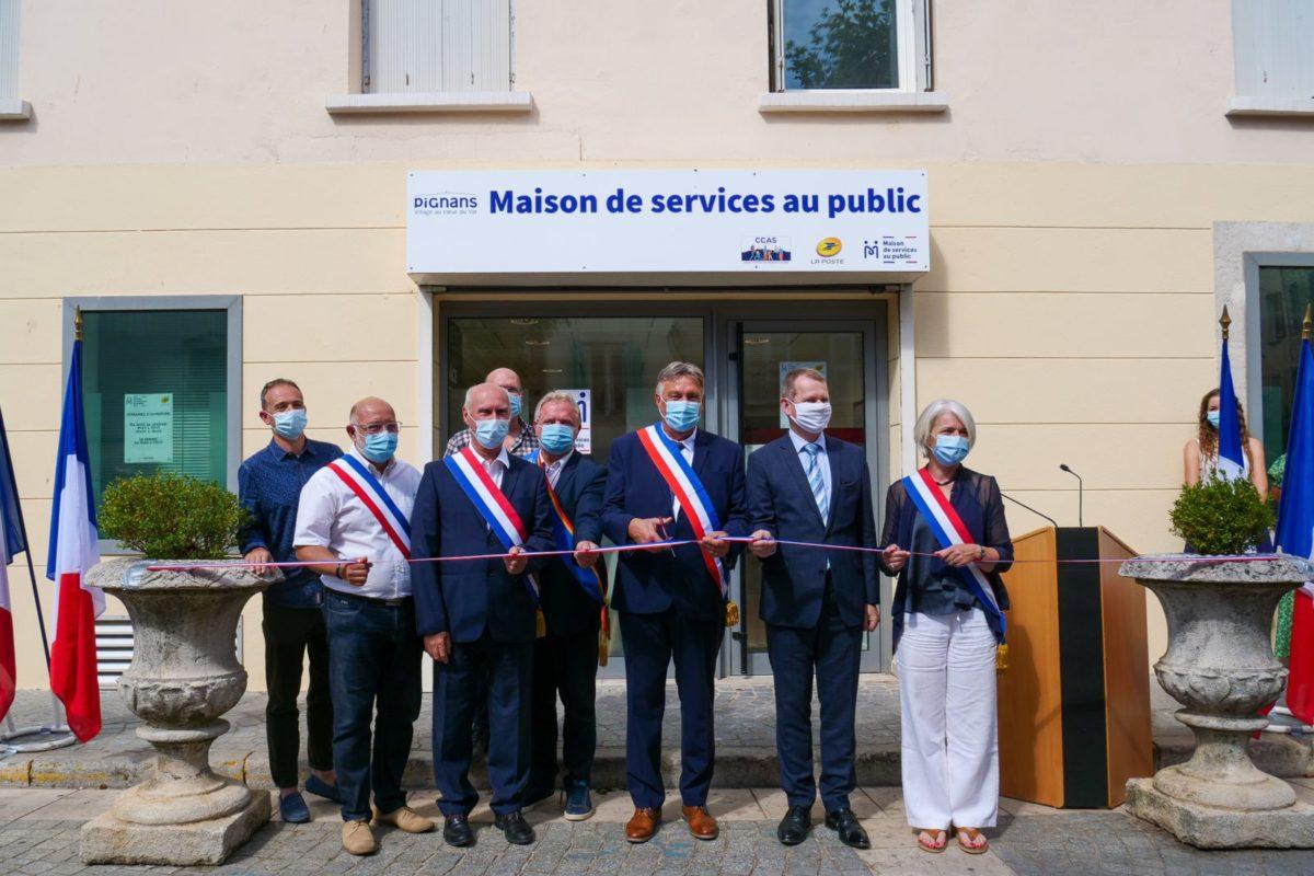 📷[Photos] Discours d'inauguration de la Maison de Services Au Public