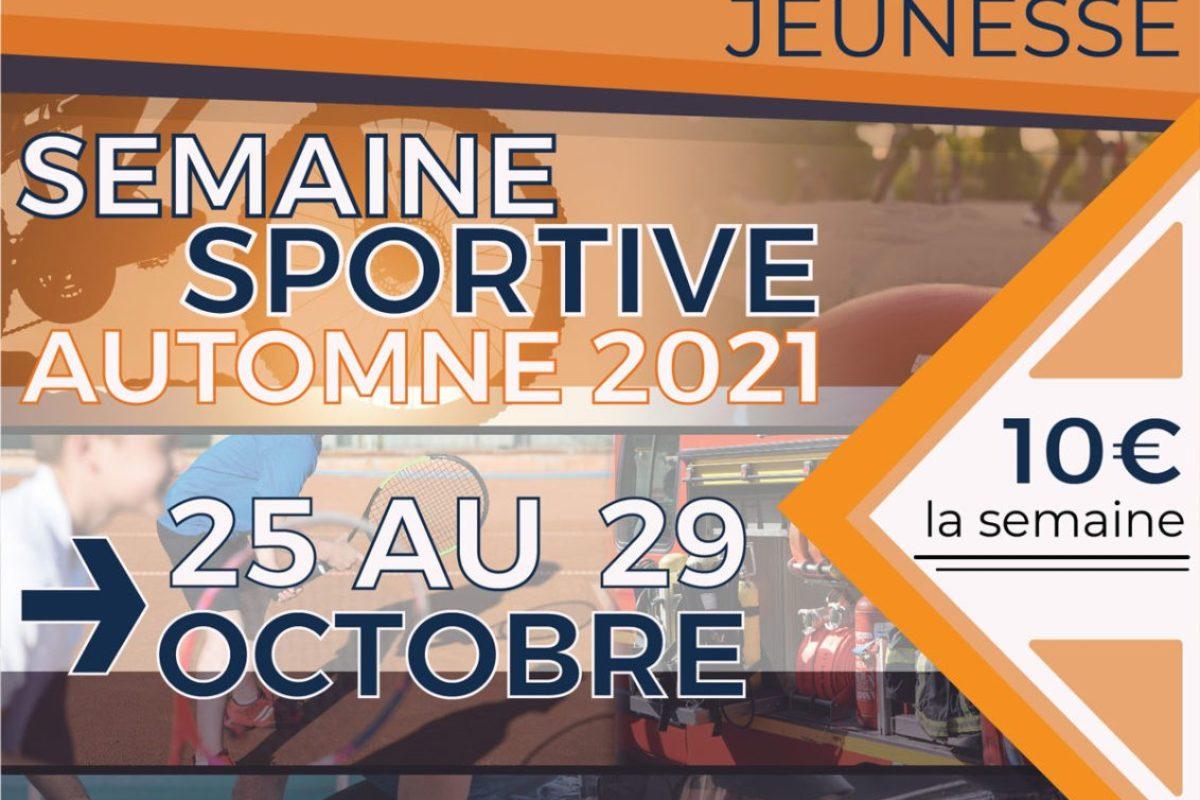 [ACTIVITÉS JEUNESSE] Semaine sportive automne 2021