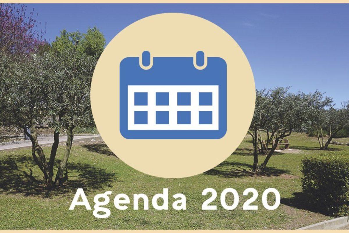 Agenda 2020 des manifestations des associations subventionnées
