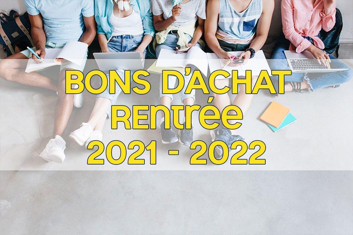 [Rentrée 2021-2022] Bons d'achat fournitures scolaires