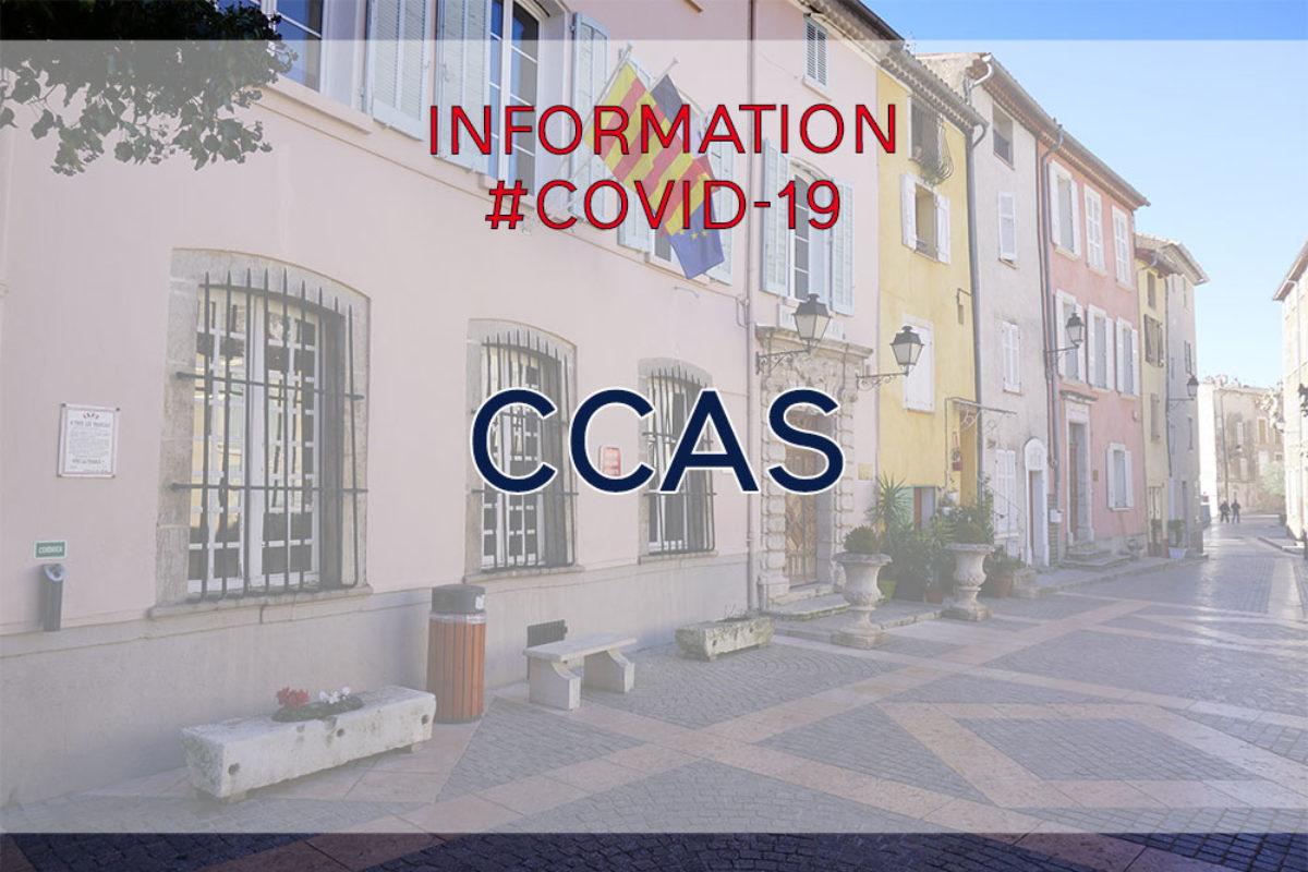 CCAS – Confinement – Recensement des personnes isolées