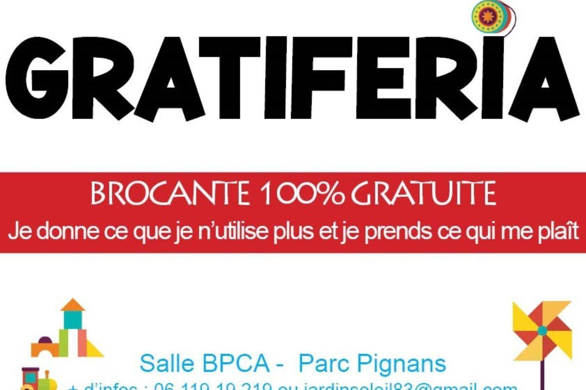 3 juillet 2021 – Gratiferia