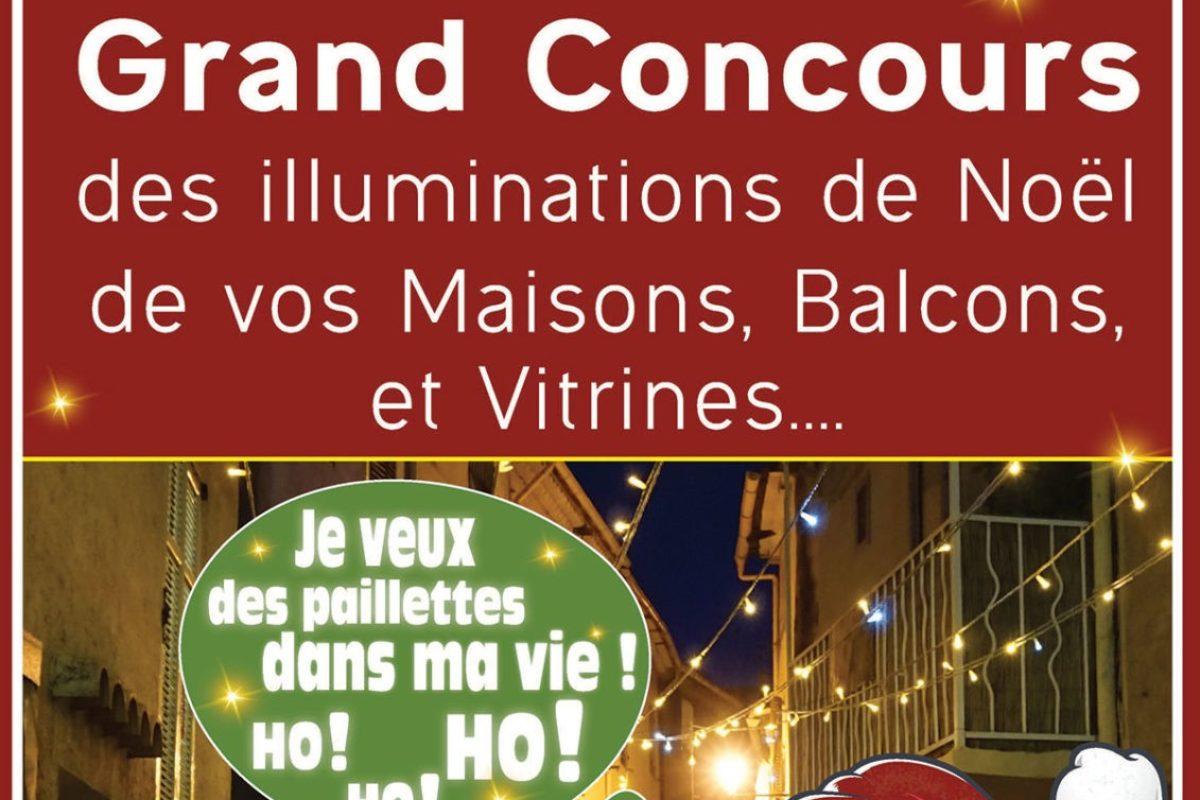 Grand concours des illuminations de Noël 2020