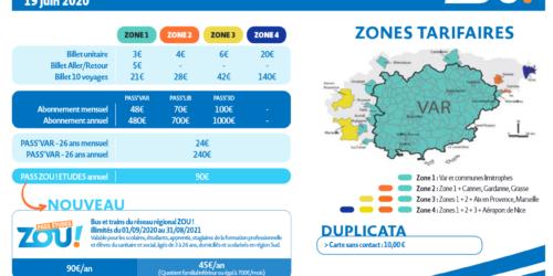 [Transports] Arrêt de bus à Pignans – Ligne TOULON -LE LUC -LES ARCS
