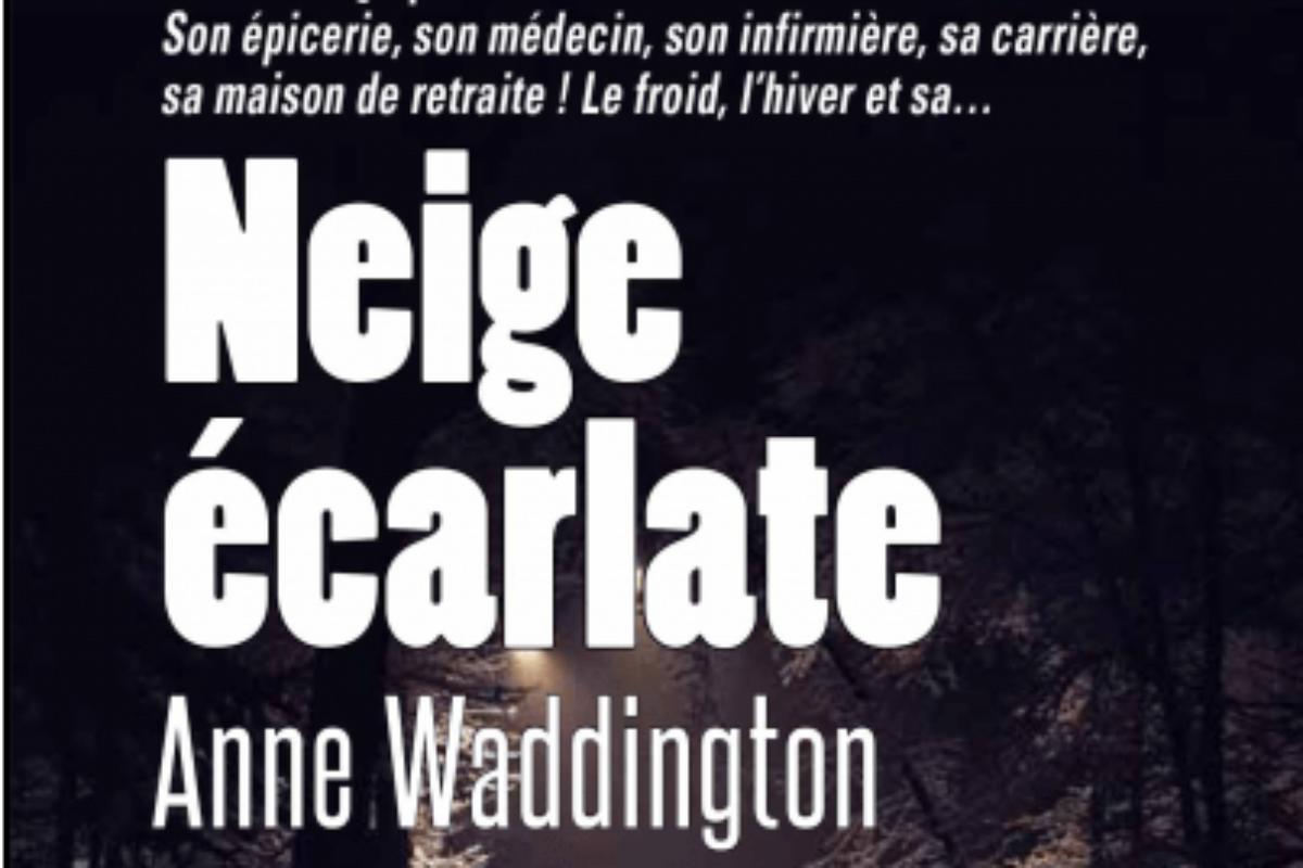 28 oct. – Rencontre avec l'autrice Anne Waddington