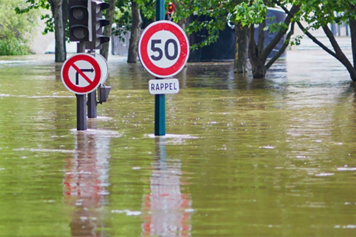 ⚠️ Inondation  – Circulation interdite sur toute la commune