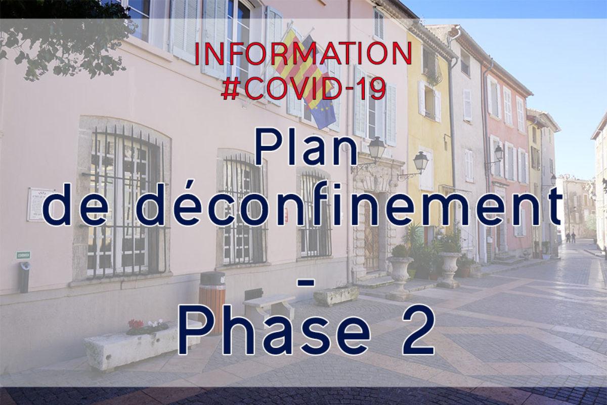 Plan de déconfinement : 2e phase