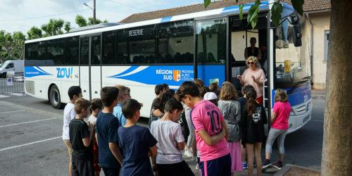Sensibilisation à la sécurité dans les transports scolaires