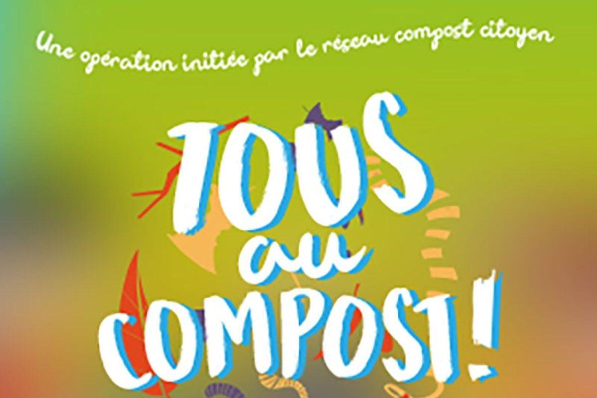 Composteurs offerts- semaine tous au compost