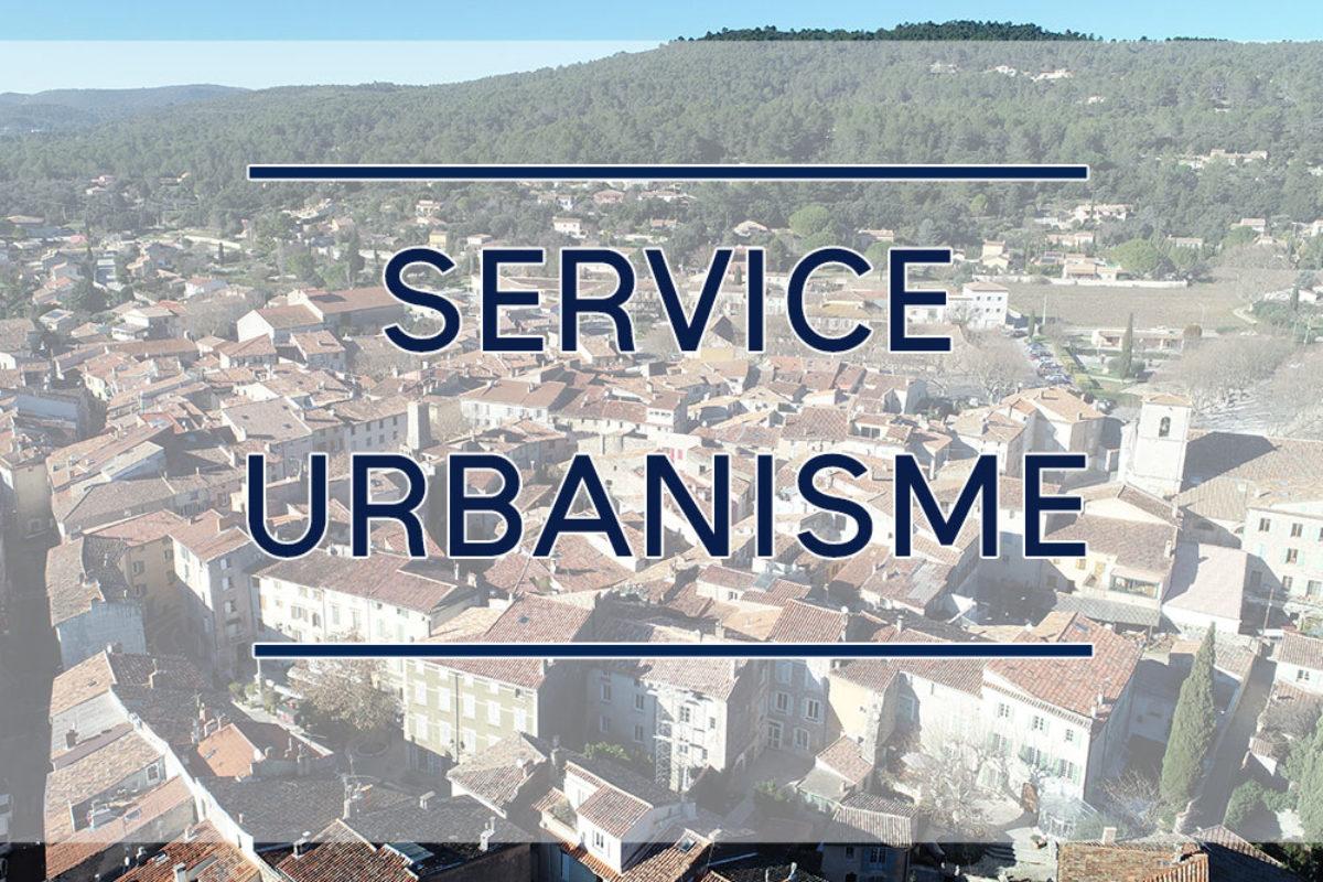 [Urbanisme] Accueil du public sans rdv le mardi matin uniquement