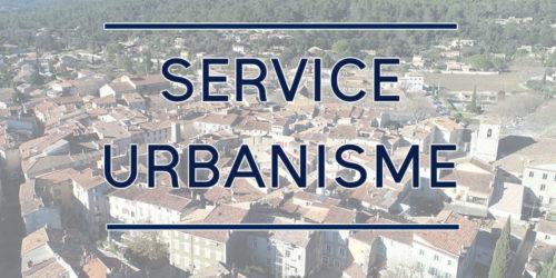 Fermeture temporaire du service urbanisme – Mot de M. le Maire